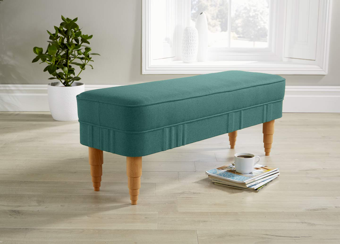 Bench teal