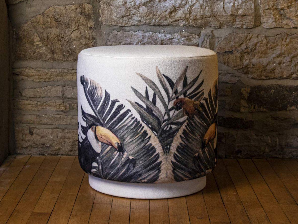 drum stool toucan