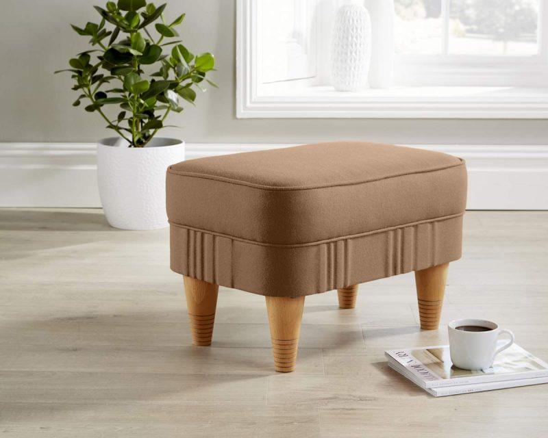 footstool copper