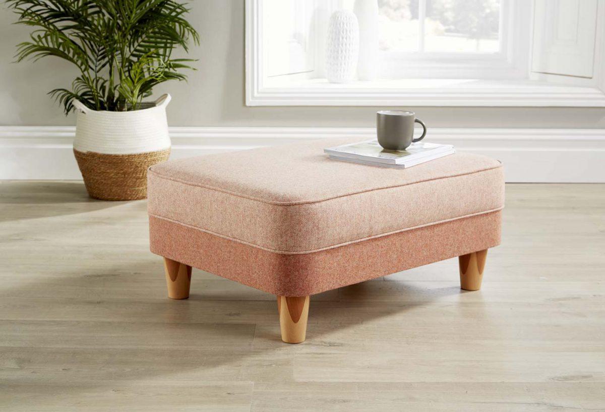 Ottoman pink 1